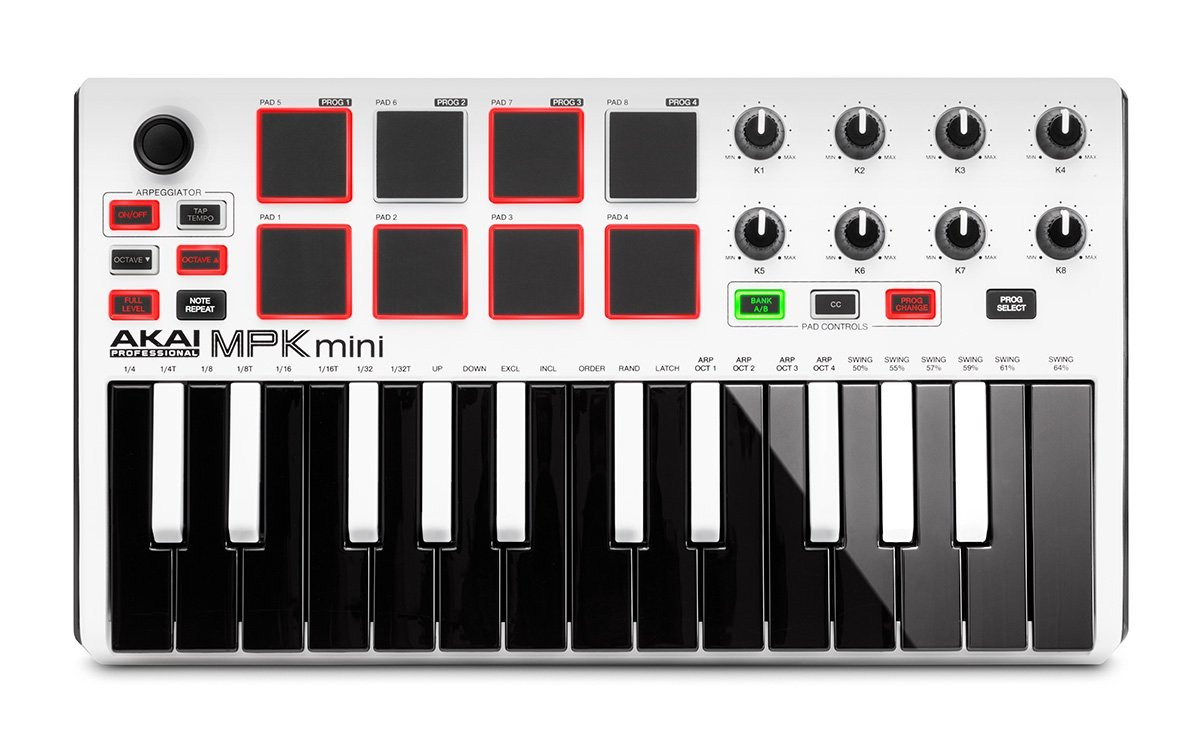 Akai pro mpk mini mkii downloading, installing and using the.