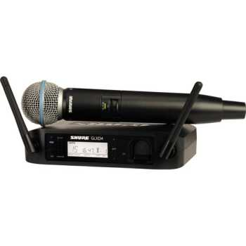 Shure GLXD24/BETA58A-Z2 - Handheld Wireless System