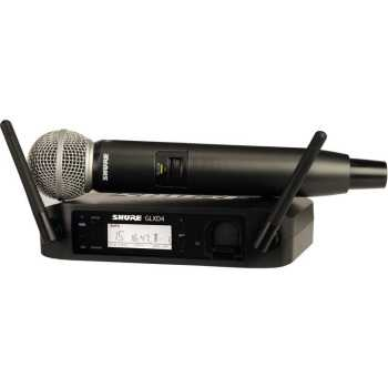Shure GLXD24/SM58-Z2 - Handheld Wireless System