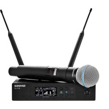 Shure QLXD24/B58 - Handheld Wireless Microphone System
