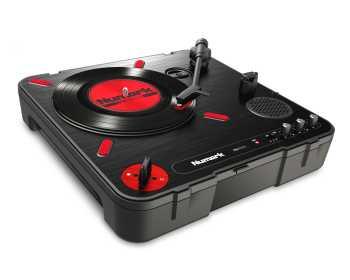 Numark PT01 Scratch - Portable Turntable with DJ Scratch Switch