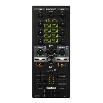 Reloop MixTour Portable Mix Controller for PC/Mac, iOS & Android
