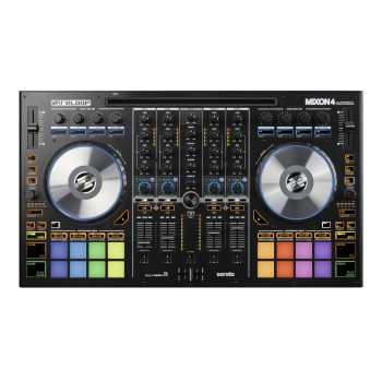 Reloop Mixon 4 4-Channel High Performance Hybrid DJ Controller For Serato DJ & Algoriddim