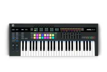 Novation 49SL MKIII - MIDI and CV Equipped Keyboard Controller with 8 Track Sequencer
