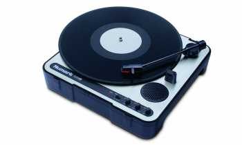 Numark PT01USB - Portable Vinyl-Archiving Turntable