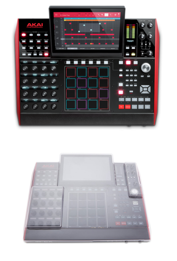 Akai MPC X + Decksaver DS-PC-MPCX Cover Bundle