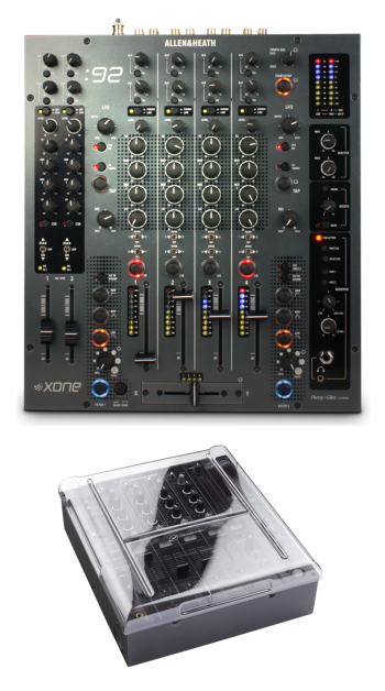 Allen & Heath: Xone:92 + Decksaver DS-PC-DJM800 Cover Bundle