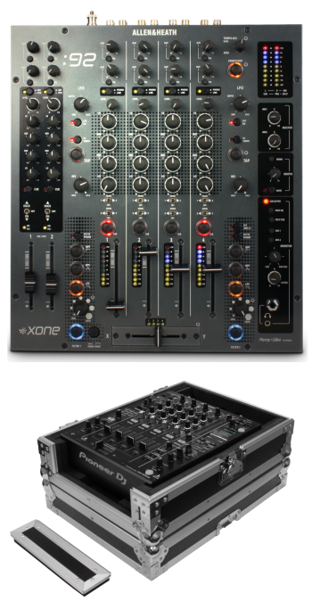 Allen & Heath: Xone:92 + Odyssey FZ12MIXXD Case Bundle