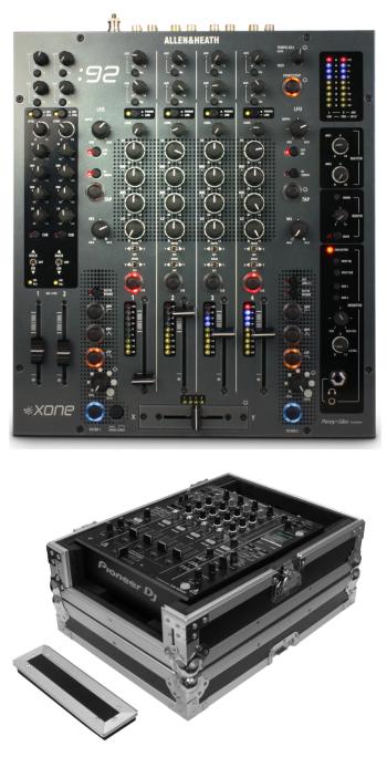 Allen & Heath: Xone:92 + Odyssey FZ12MIXXD Case Bundle