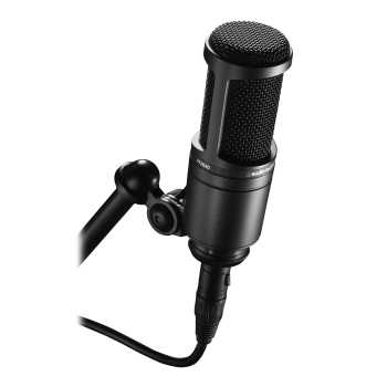 Audio-Technica AT2020 - Cardioid Condenser Microphone
