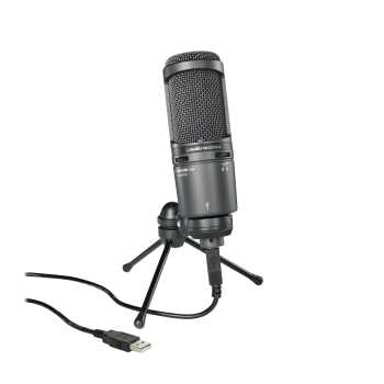 Audio-Technica AT2020USB+ - Cardioid Condenser USB Microphone - $20 Temporary Price Drop