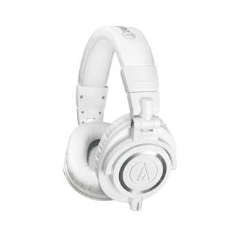 Audio-Technica ATH-M50xWH - Professional Monitor Headphones (White)
