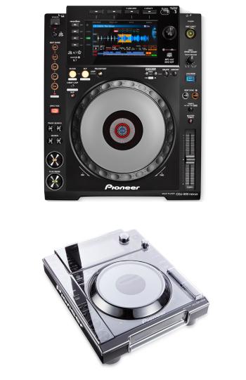 Pioneer DJ CDJ-900 Nexus + Decksaver DS-PC-CDJ900NXS Cover Bundle