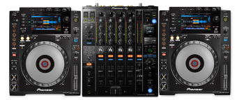 Pioneer DJ CDJ-900 Nexus + DJM-900 NXS2 Bundle Deal