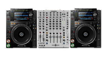 Pioneer DJ CDJ-2000 NXS2 + Allen & Heath XONE:96 Bundle