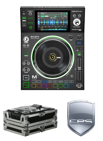 "Denon DJ SC5000M ""PROtection"" Bundle with Case and 2 Year Accidental Warranty"