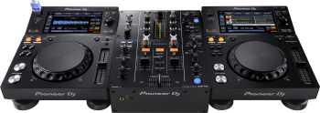 Pioneer DJM-450 + 2 XDJ-700 Bundle