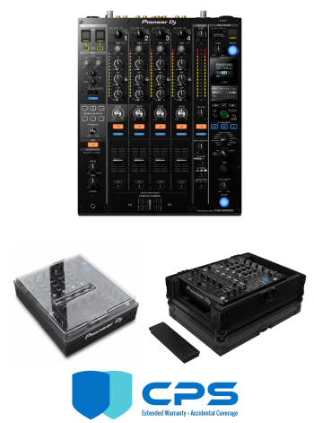 "Pioneer DJ DJM-900 NXS2 ""PROtection"" Bundle With Odyssey FZ12MIXXDBL, Decksaver Cover And 2 Year Accidental Coverage Warranty"