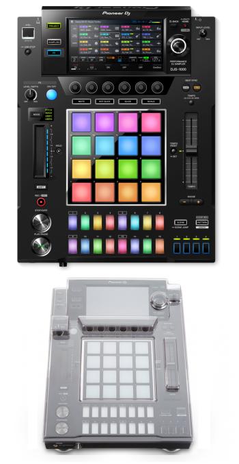 Pioneer DJ DJS-1000 + Decksaver DS-PC-DJS1000 Cover Bundle