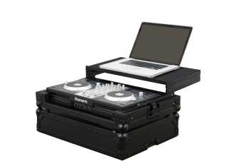 Odyssey FZGSMIXDECKEXBL - Numark Mixdeck Express All Black Gliding Platform Flight Case