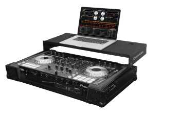 Odyssey FZGSPIDDJSX2BL - Pioneer DDJ-RX / DDJ-SX / DDJ-SX2 All Black Flight Case