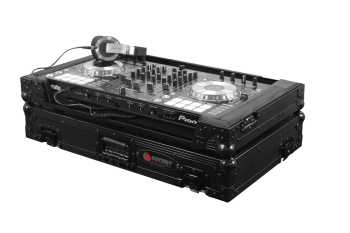 Odyssey Black Label™ Flight Zone® Case for Pioneer DDJ-SX2 & DDJ-SX - FZPIDDJSXBL