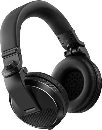 Pioneer DJ HDJ-X5-K - Over-ear DJ Headphones (Black)
