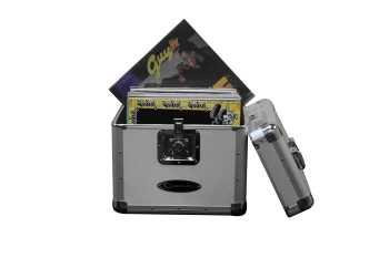 Odyssey KLP2SIL - Stackable LP Case (Silver)
