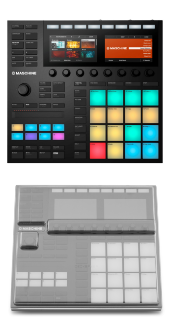 Native Instruments Maschine MK3 + Decksaver DS-PC-MASCHINEMK3 Cover Bundle