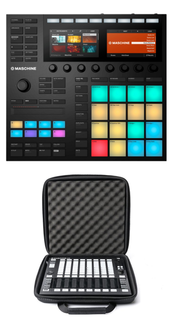 Native Instruments Maschine MK3 + Magma MGA48004 Case Bundle