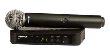 Shure BLX24/SM58-H9 - Handheld Wireless System