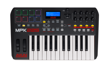 Akai MPK225 -  Compact Keyboard Controller