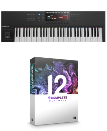 Native Instruments Komplete Kontrol S61 MK2 + Komplete 12 Ultimate Bundle