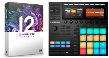 Native Instruments Maschine MK3 + Komplete 12 Ultimate Bundle