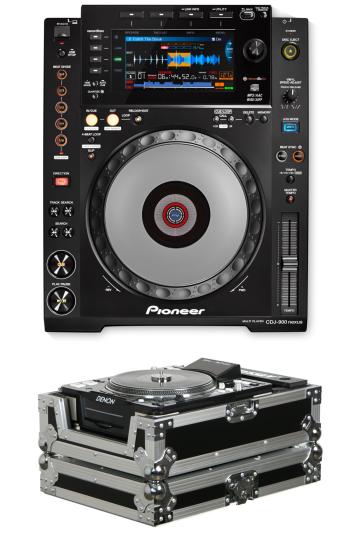 Pioneer DJ CDJ-900 Nexus + Odyssey FZCDJ Case Bundle Deal