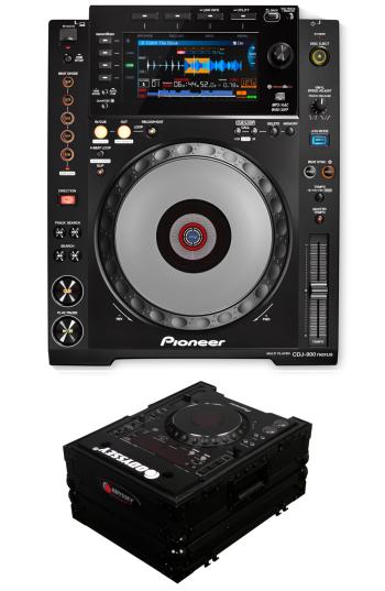 Pioneer DJ CDJ-900 Nexus + Odyssey FZCDJBL Case Bundle Deal