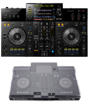 Pioneer DJ XDJ-RR + Decksaver DS-PC-XDJRR Cover Bundle