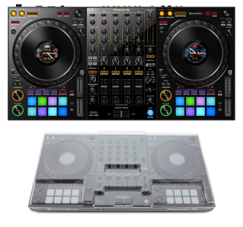 Pioneer DDJ-1000 + Decksaver DS-PC-DDJ1000 Cover Bundle