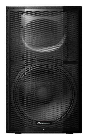 "Pioneer XPRS 15 - 1500W 15"" Active Two-Way Full Range Speaker (Single) + Free $79 Pioneer Speaker Cover Rebate"