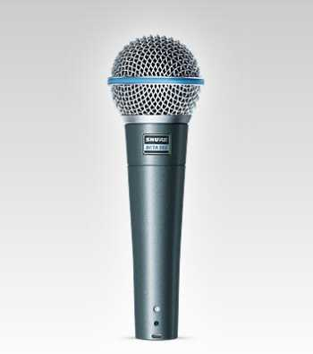 Shure Beta 58A - Vocal Microphone