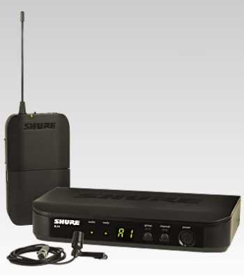 BLX14/CVL-H10 - Lavalier Wireless System