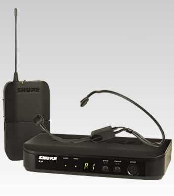 Shure BLX14/P31-H10 - Headworn Wireless System