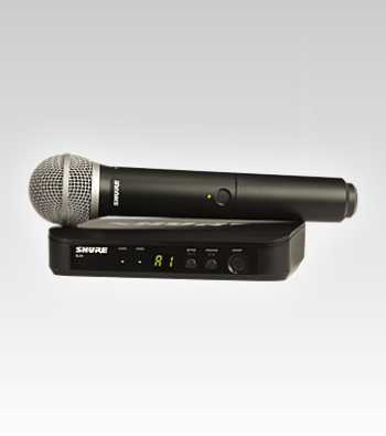 Shure BLX24/PG58-H9 Handheld Wireless System