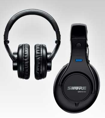 Shure SRH440 - Professional Studio Headphones - $20 Temporary Price Drop