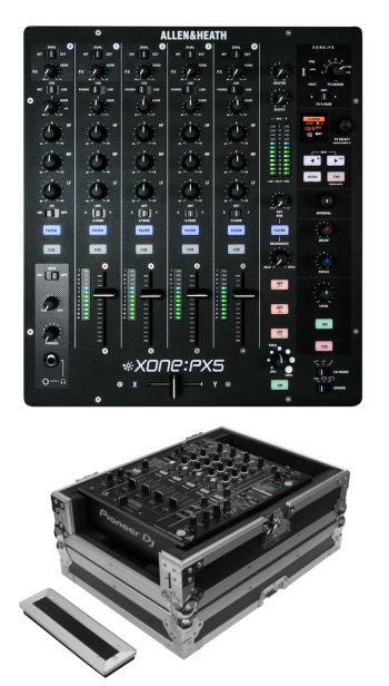 Allen & Heath Xone:PX5 + Odyssey FZ12MIXXD Case Bundle Deal