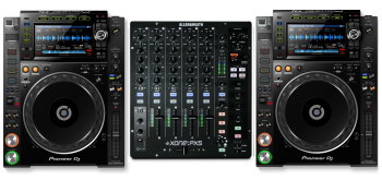 Pioneer CDJ-2000 NXS2 + Allen & Heath XONE:PX5 Mixer Bundle