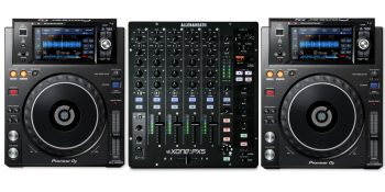 Allen & Heath XONE:PX5 Mixer + Pioneer XDJ-1000MK2 Bundle