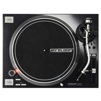 Reloop RP-7000 MK2 - Professional Upper Torque Turntable System (Black)