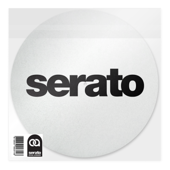 Serato Slipmats (Pair, White)