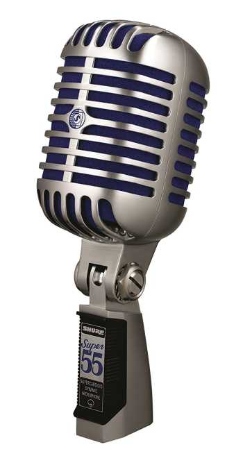 Shure Super 55 - Deluxe Vocal Microphone